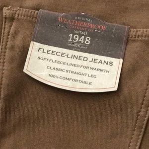 Weatherproof Vintage Men/'s Fleece Lined Pant